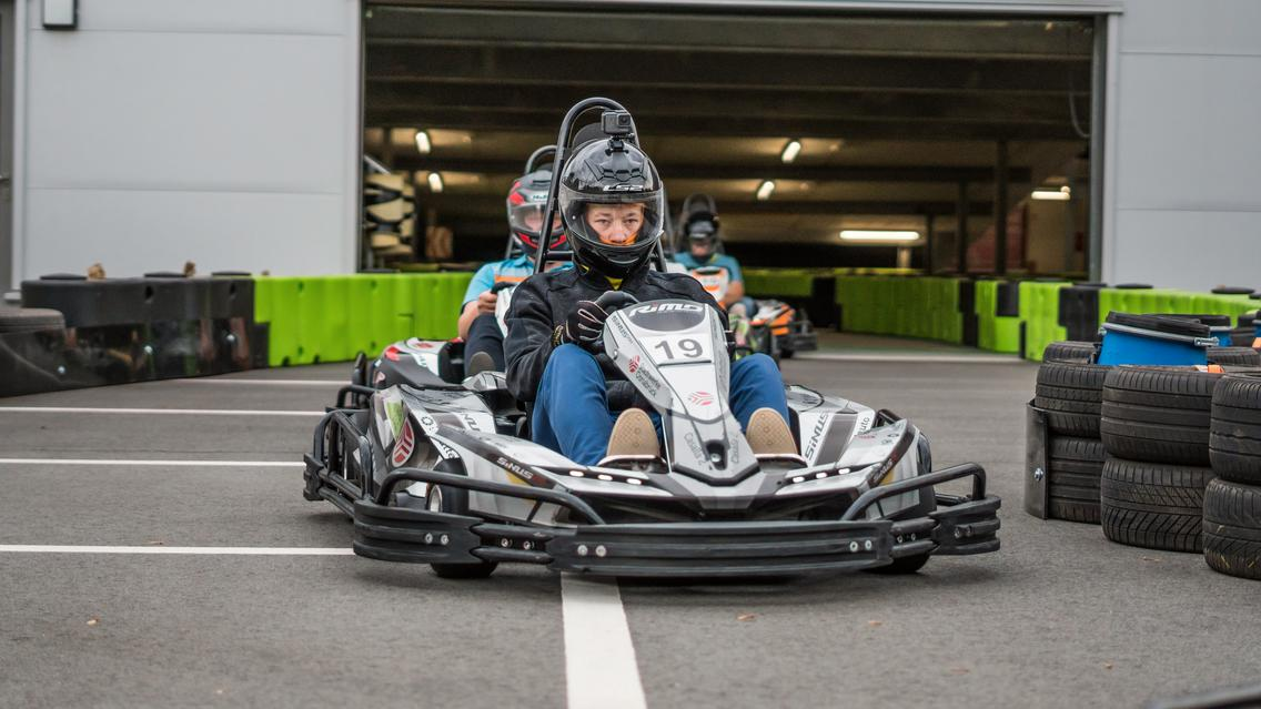 Noch mehr Rennvergnügen auf der erweiterten Außenstrecke