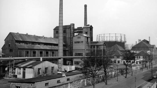 Gaswerk ca. 1960