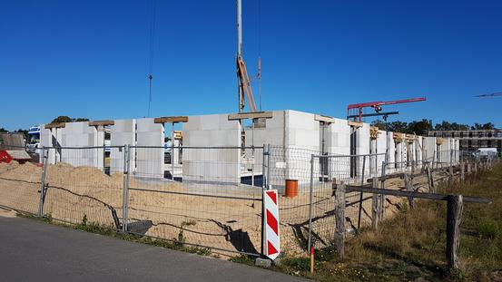 Bauprojekt Wohnbauprojekt Landwehrviertel - Erdgeschoss (September 2020)