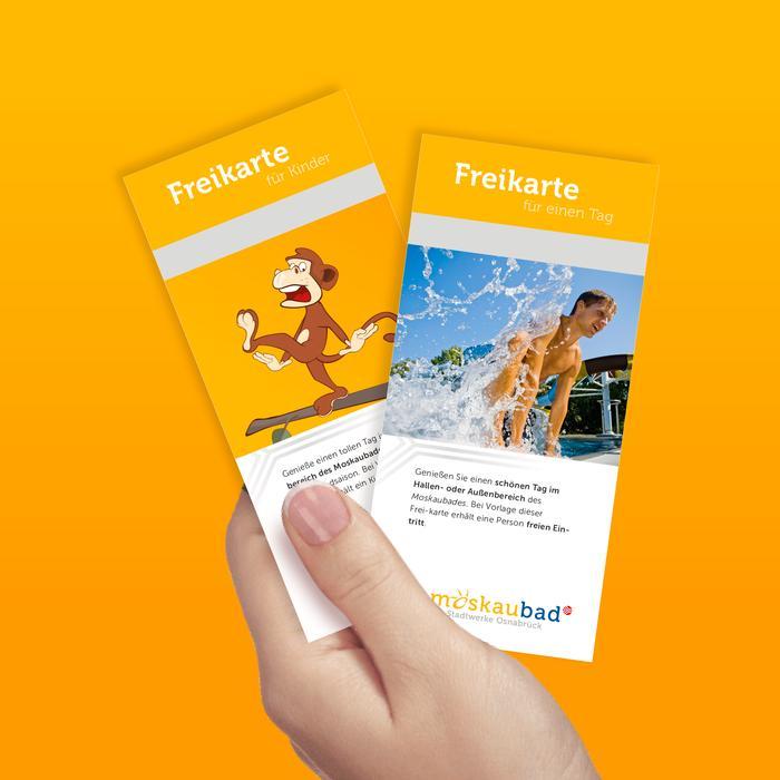 Freikarten für das Moskaubad und den Dschungel