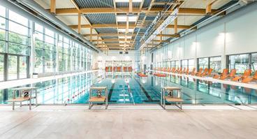 Das neue 33-Meter-Becken im Nettebad
