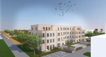 So soll der Neubau im Landwehrviertel ab kommendem Jahr aussehen.