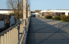 Eingang zum Nettebad