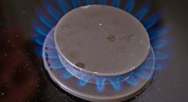 Erdgasflamme