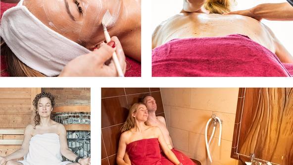Wellnesstag im Spa & Beauty der Loma-Sauna