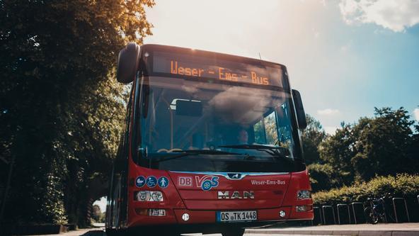 Bus der Verkehrsgemeinschaft (VOS)