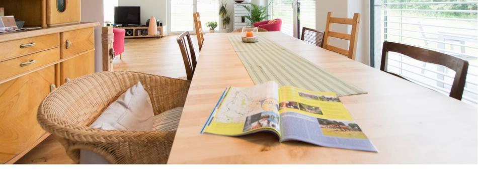 Magazin hier der Stadtwerke liegt auf dem Tisch