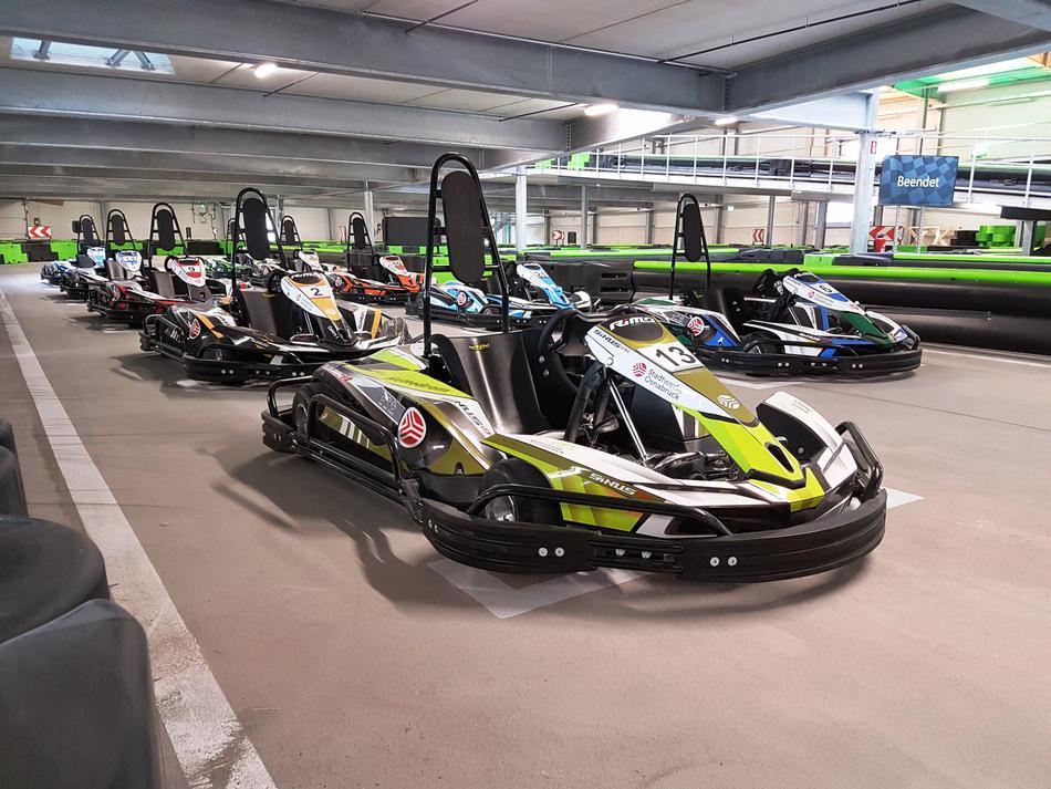 Unsere E-Kart-Flotte