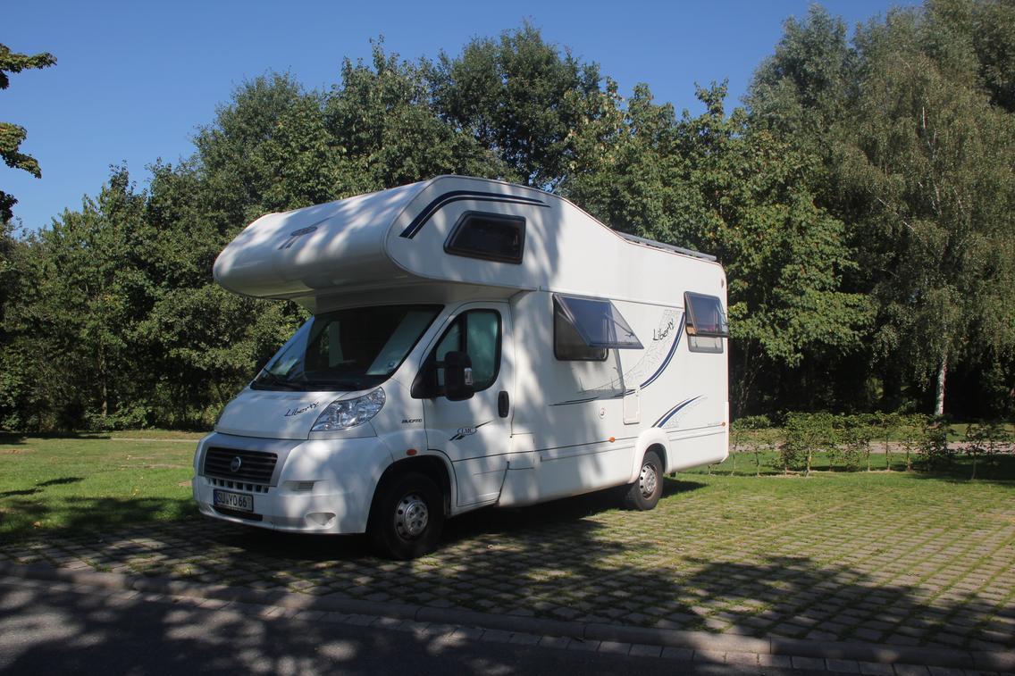 Vakantie met de camper aan het Nettebad