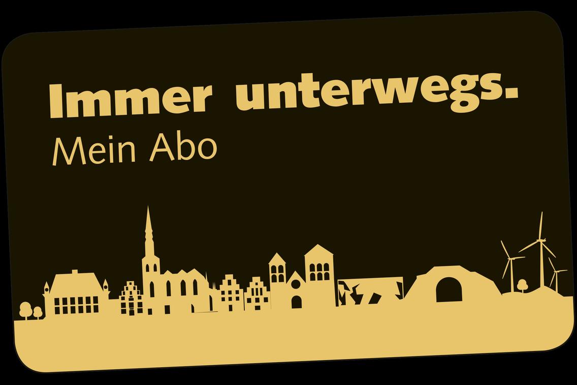 Abo Chipkarte der Verkehrsgemeinschaft Osnabrück (VOS)