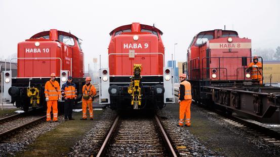 Hafenbahn Lokomotiven der EHB