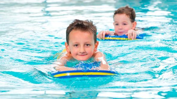 Mit dem Seepferdchen sicher schwimmen
