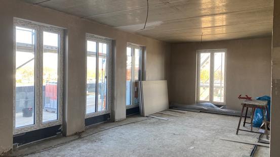 Wohnung Innenansicht Staffelgeschoss