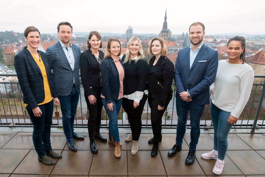 Das Team Digitale Woche 2020.