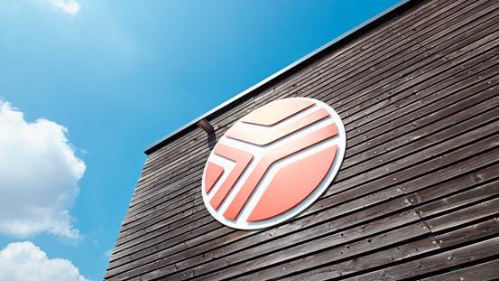 Nettebad Außenansicht mit Logoball