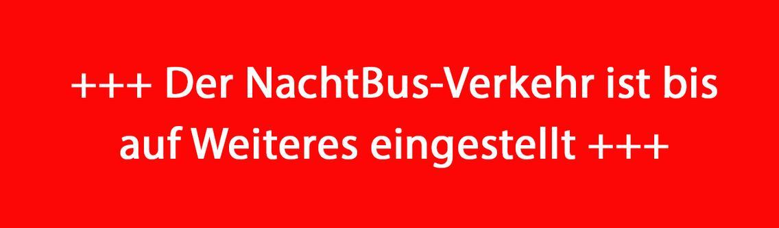 Hinweis der VOS: Der NachtBus-Verkehr ist bis auf Weiteres eingestellt