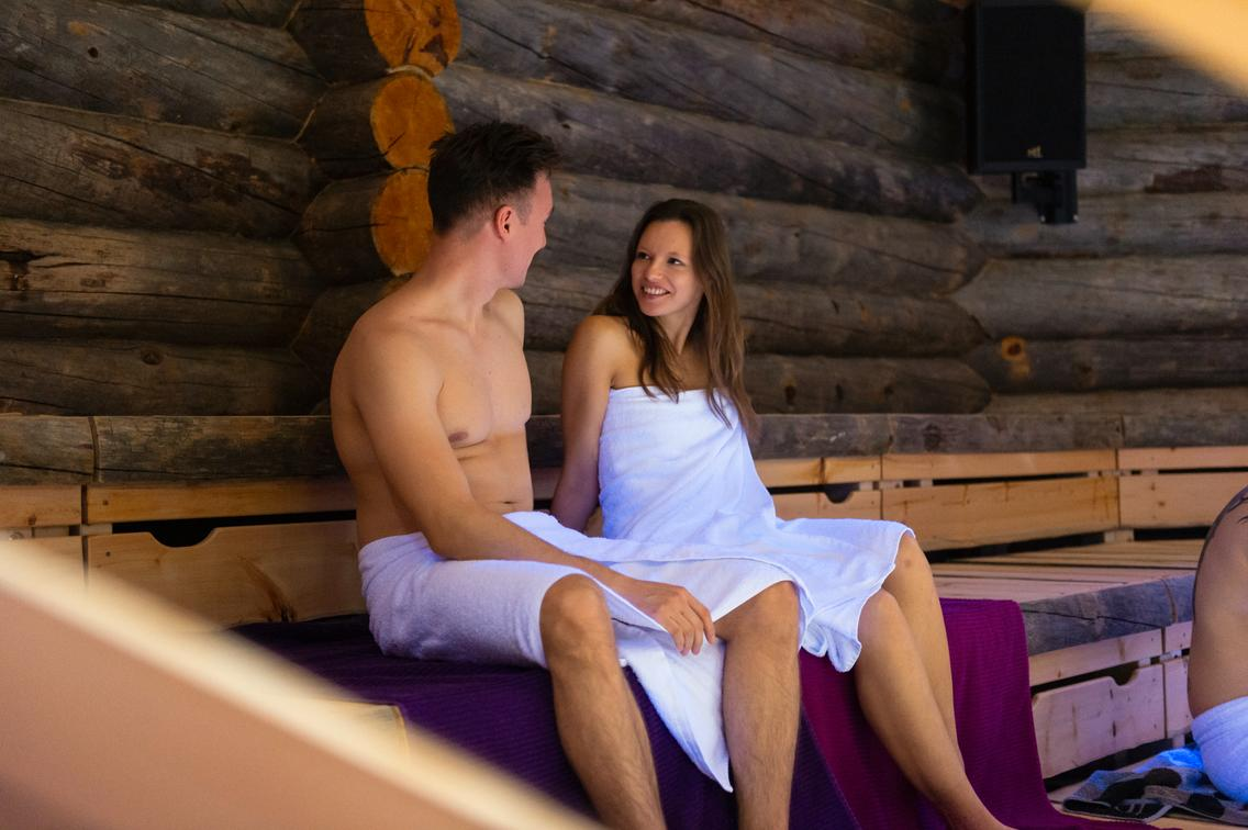 Eventsauna Tapahtuma in der Loma-Sauna
