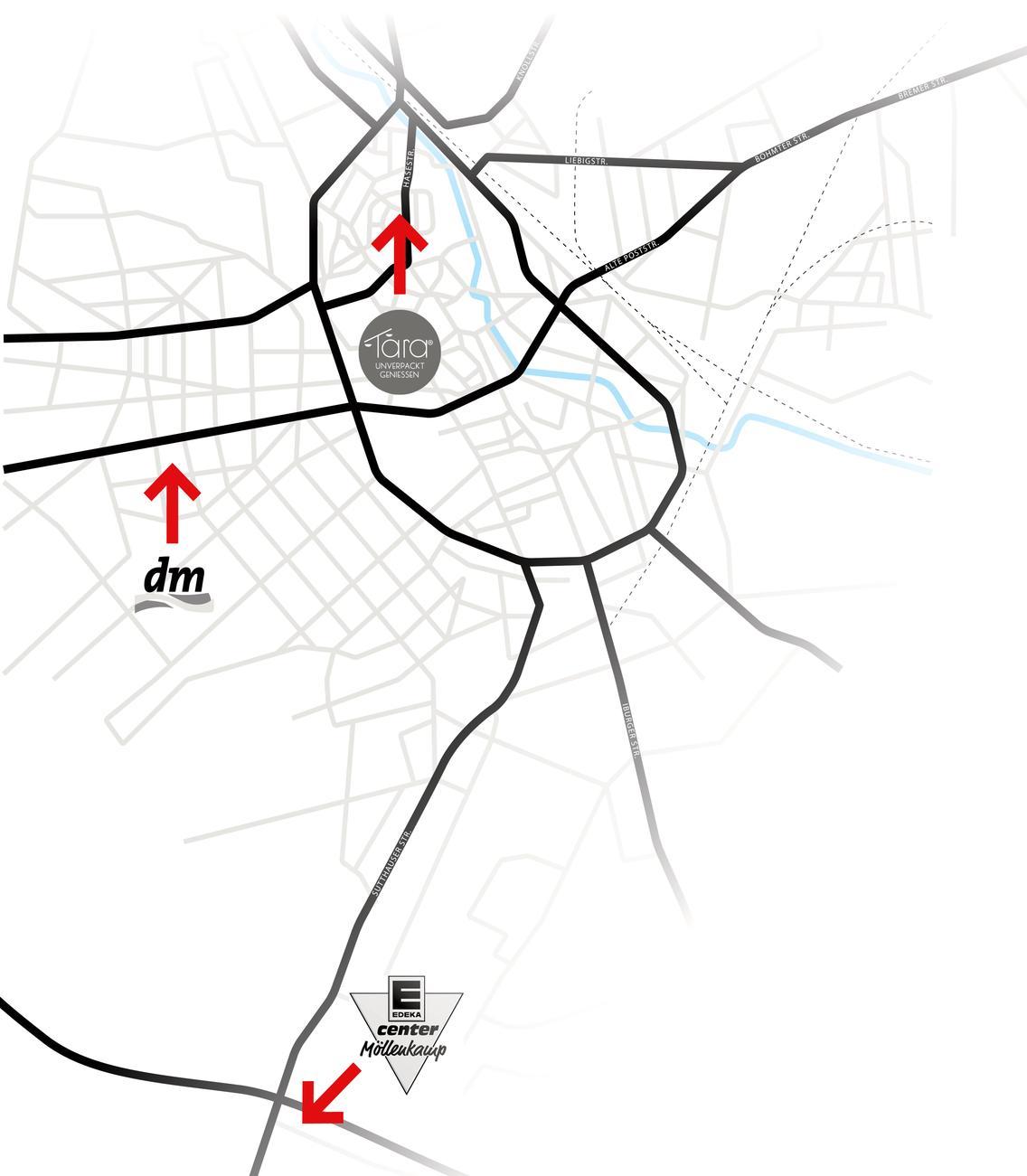 Standorte der E-Lastenräder
