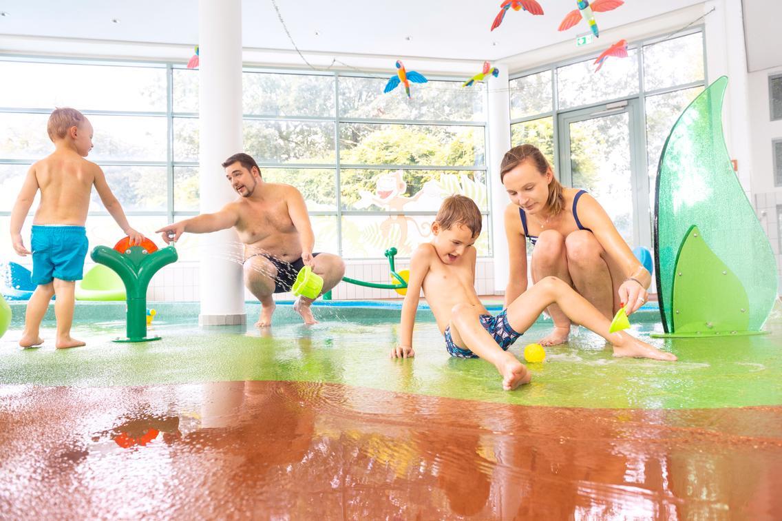 Familien-Wasserspielplatz