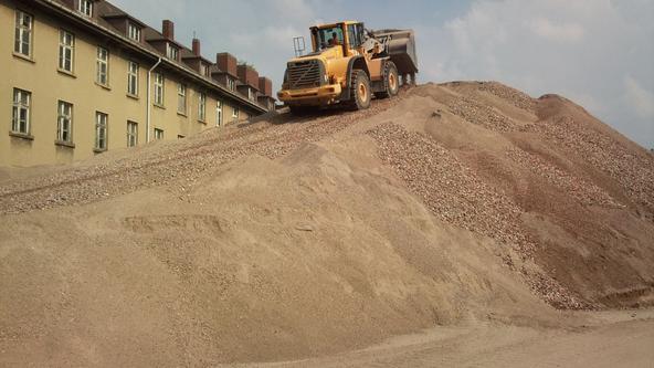 Bauarbeiten Winkelhausenkaserne