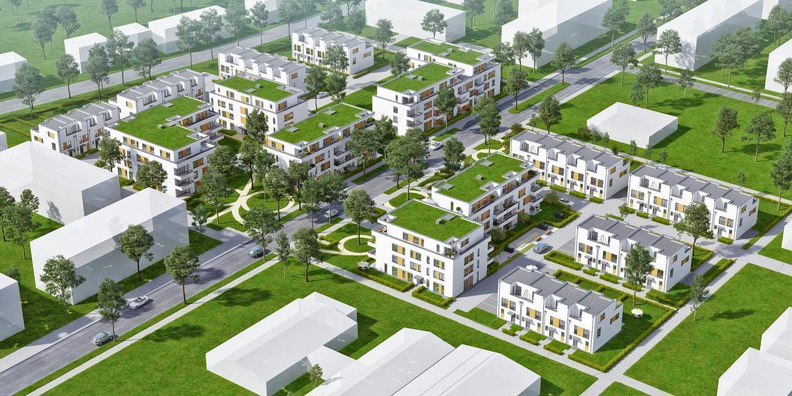 Entwurf zum Teilstück E im Landwehrviertel