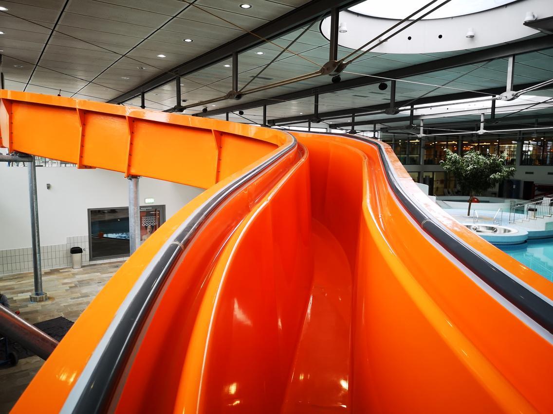 Die neue Stand Line im Rutschenpark der Erlebniswelt