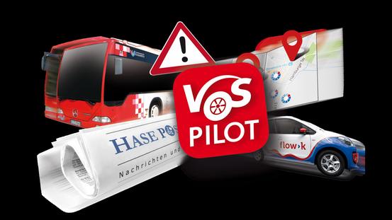 Die MobilitätsApp VOSpilot verbindet verschiedene Angebote