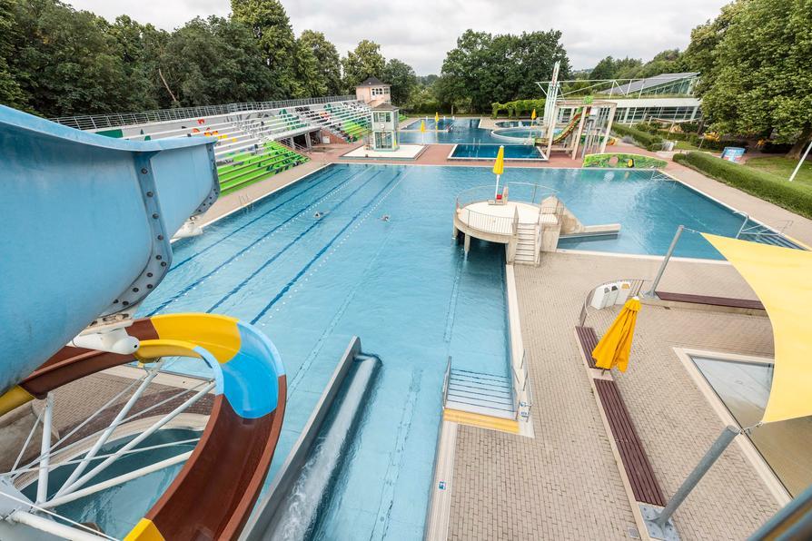 Endspurt für die Freibadsaison in Osnabrück: Das Moskaubad-Freibad schließt am Sonntag, 5. September.