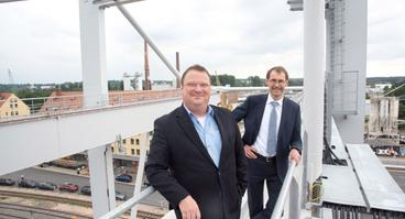 Das Geschäftsführer-Duo Björn Tiemann (l.) und Dr. Clemens Haskamp leitet die Geschicke der CTO.