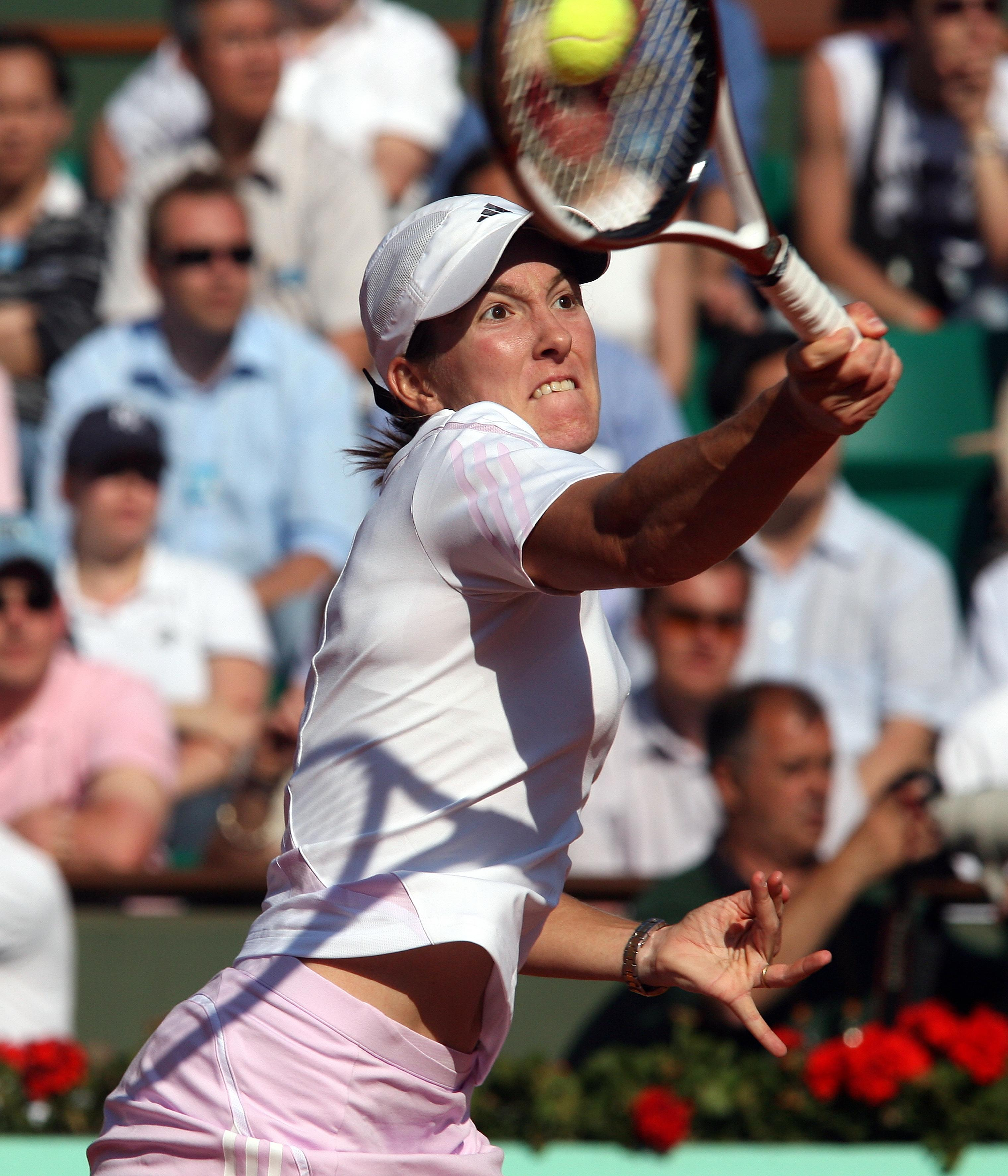 images Justine Henin 7 Grand Slam singles titles