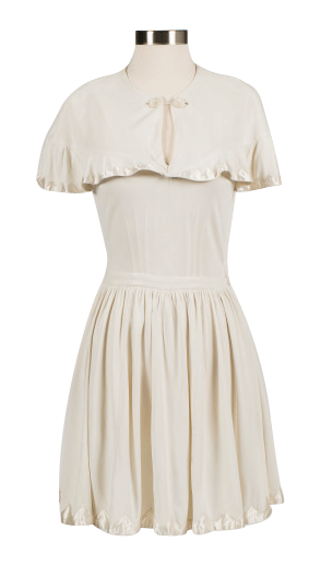 new arrivals d05de 2151b Tennis dress designed by Ted Tinling for Gussy Moran, 1949