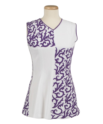 another chance 64981 8f241 Dress worn by Rosie Casals at the 1972 Wimbledon Championships