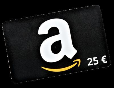 Amazon-Gutschein im Wert von 25 Euro
