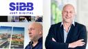 ITDZ-Vorstand Marc Böttcher im Video-Call mit der SIBB-Leitung