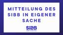 Vorstandswahlen des SIBB e.V. Verband der Digitalwirtschaft Berlin-Brandenburg