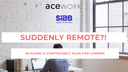 The fully remotely working company acework is offering guidance on how to keep your remote teams' productivity up