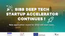 SIBB Deep Tech Startup Accelerator continues! Application round 2022 will start soon