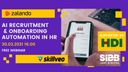 AI recruitment and onboarding automation in HR