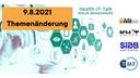 Health-IT-Talk: Themenänderung zu Identity Access Management (IAM) für den 9.8.2021