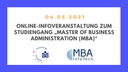 SIBB Mitglied Universität Potsdam informiert über berufsbegleitendes MBA-Studium