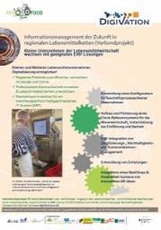 Poster Erklärung RegioFood Projekt