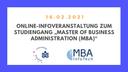 SIBB Mitglied Universität Potsdam informiert in einem Online-Seminar zum berufsbegleitenden Master of Business Administration (MBA)