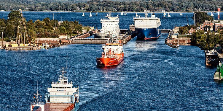 VISCOM, Bild, Nord Ostsee Kanal, 200602