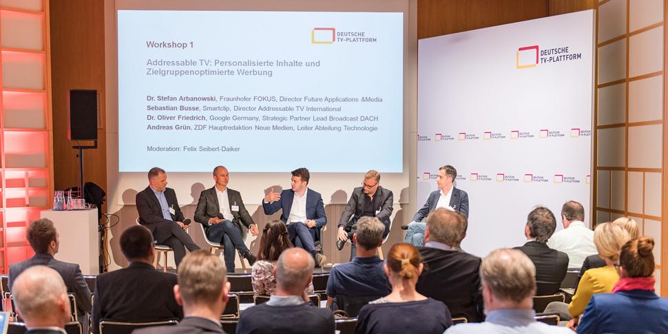 Fraunhofer FOKUS FAME Media Innovation Plattform 2018 Deutsche TV-Plattform