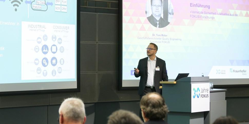 Tom Ritter 30 Jahre FOKUS Konferenz