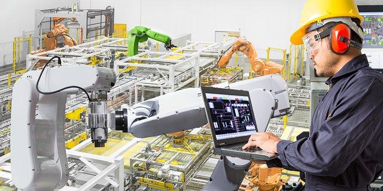 Vernetze Fabrik Leistungszentrum