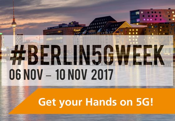 NGNI, Berlin5GWeek 2017, Berlin 5G Week, Event, Banner