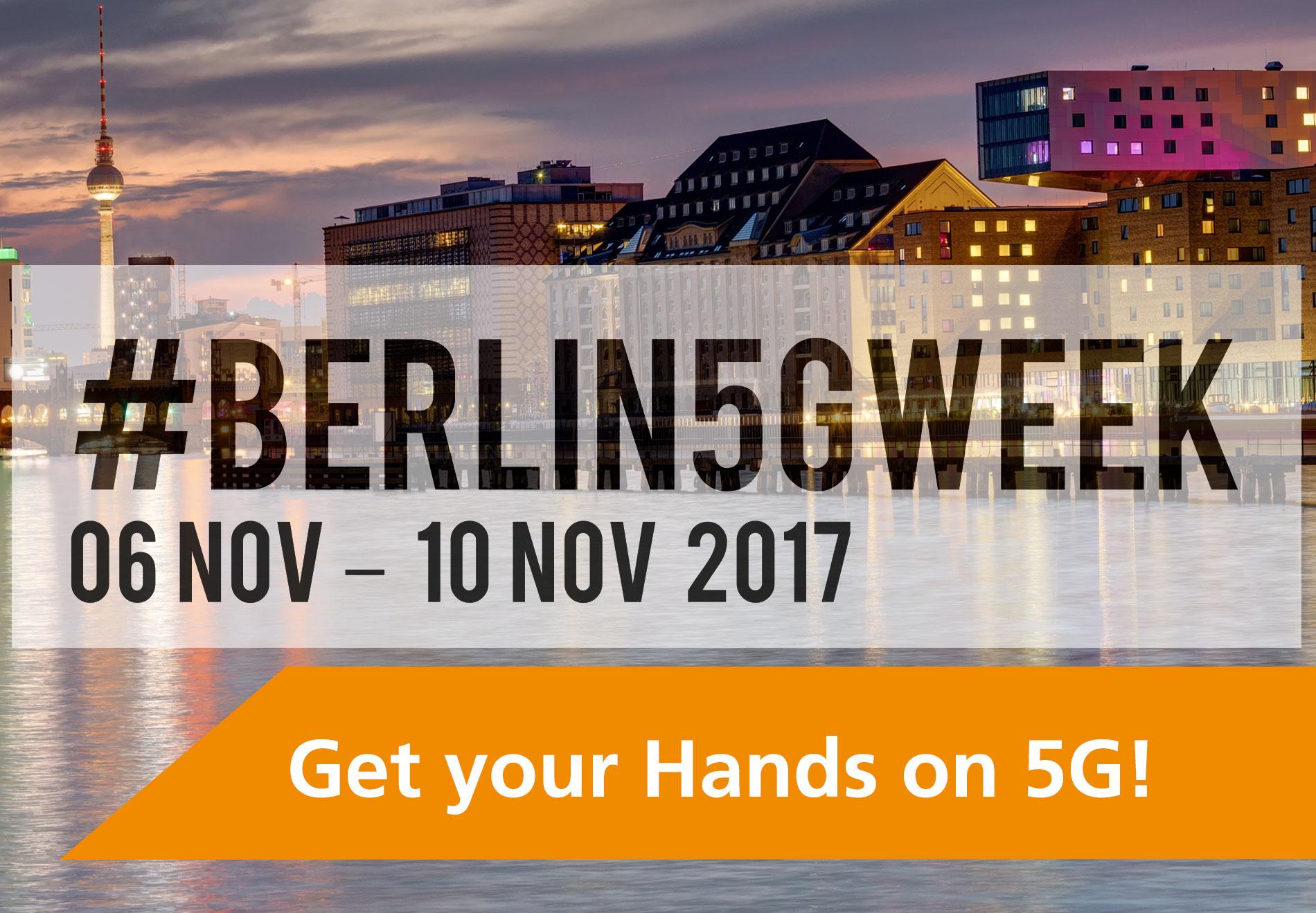 NGNI, Berlin5GWeek 2017, Berlin 5G Week, Event, Banner