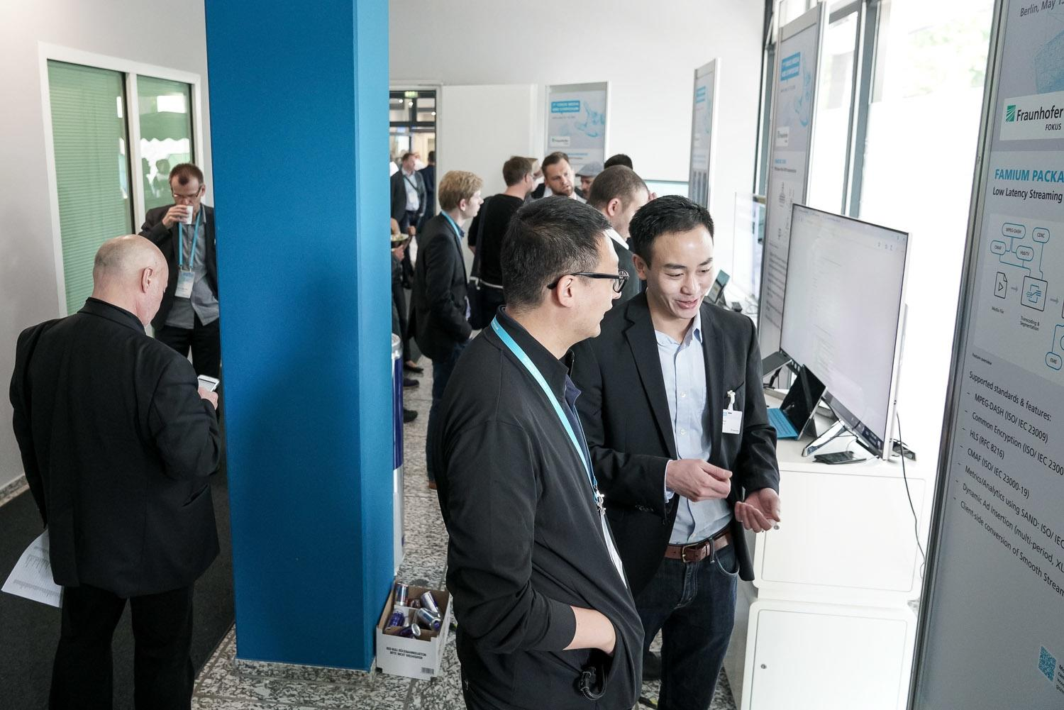 Fraunhofer FOKUS FAME MWS Media Web Symposium 2018 Demos