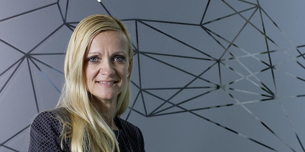 Kuratorin Claudia Rathfux